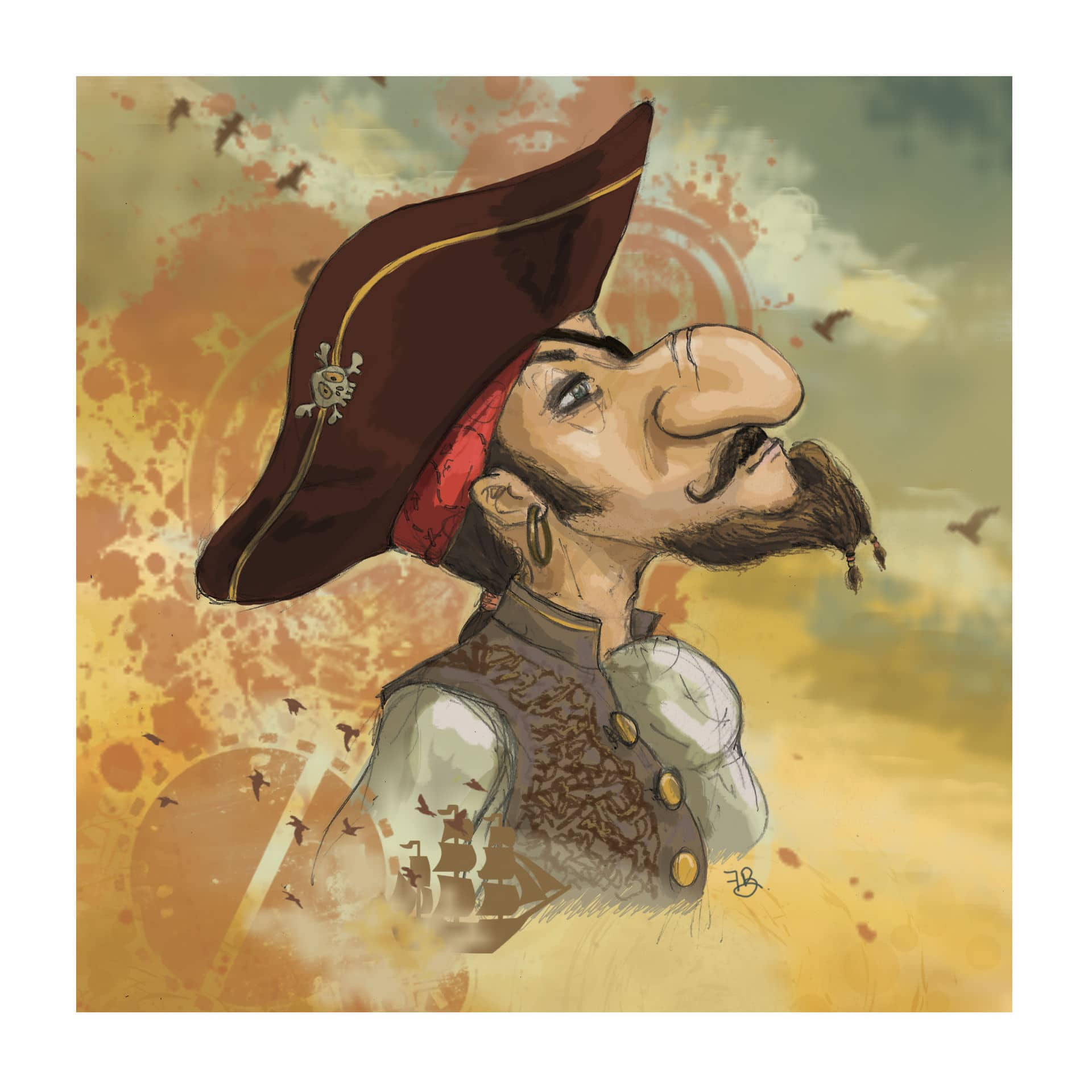pirate illustration 49