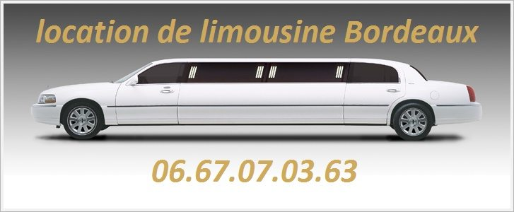 location limousine bordeaux m rignac en aquitaine cubelist. Black Bedroom Furniture Sets. Home Design Ideas