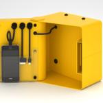 1 ouvert jaune NamedView 1boite2 150x150 - Conception et distribution de stations de recharge pour smartphone
