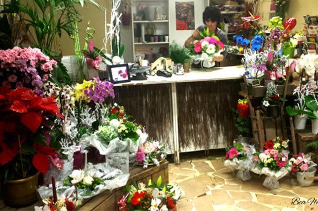 B a fleurs cubelist for Job decoration interieur